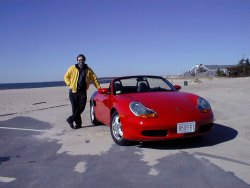 Me and my Porsche Boxster